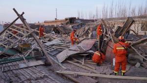 Terremoto de magnitude 6,4 mata pelo menos uma pessoa na China