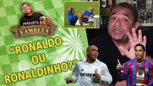 'Ronaldo Fenômeno ou Ronaldinho Gaúcho?' Vampeta revela quem acha melhor