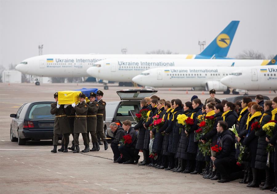Ucrânia avião Kiev