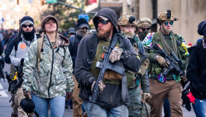 protesto pró-arma EUA