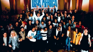 Há 35 anos mais de 40 artistas cantavam 'We Are The World'; relembre