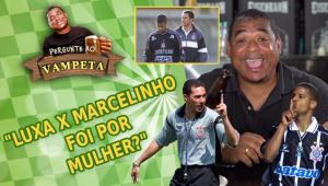 Briga entre Luxemburgo e Marcelinho foi por causa de mulher? Vampeta abre o jogo e esclarece 'lenda'