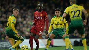 Mané retorna de lesão e faz gol da vitória do Liverpool sobre Norwich