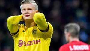 Haaland pode rescindir contrato com Dortmund e assinar com o Barcelona