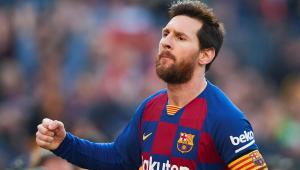 Com quatro gols, Messi dá show e encerra jejum em goleada do Barcelona