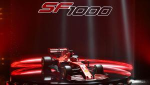Com a missão de quebrar o jejum de títulos, Ferrari apresenta o modelo SF1000