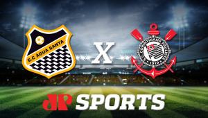 AO VIVO - Água Santa x Corinthians - 22/02/20 - Campeonato Paulista - Futebol JP