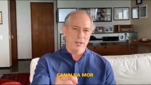 Ciro Gomes ataca Jair Bolsonaro: 'Canalha, eu vou te enfrentar'