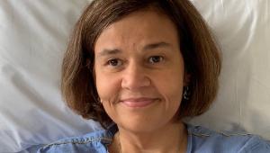 Atriz Cláudia Rodrigues volta a ser internada em São Paulo