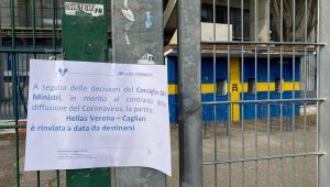 Temor por coronavírus faz Federação cancelar quarto jogo do Campeonato Italiano