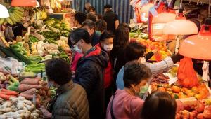 Mercado em Wuhan, na CHina