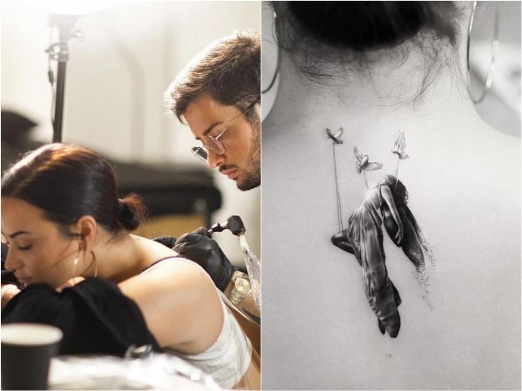 Demi Lovato mostra nova tatuagem e explica significado: 'Despertar espiritual' – Jovem Pan