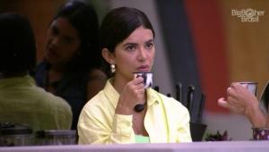 BBB 20: Manu Gavassi cogita pedir teste de gravidez para a produção