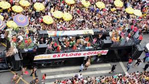 Organização do metrô no Carnaval de SP ocorre 'dentro da expectativa', diz secretário