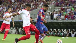 Fortaleza leva gol do Independiente nos acréscimos e cai na Sul-Americana