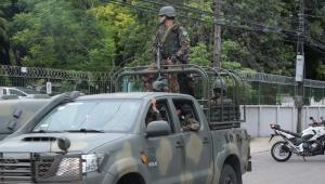 Militares das Forças Armadas iniciam policiamento nas ruas de Fortaleza