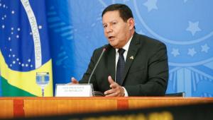 Hamilton Mourão defende política ambiental adotada pelo governo