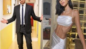 Danilo Gentili ironiza visual de Bruna Marquezine: 'Trocou um craque por outro'