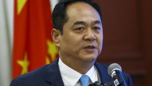 O embaixador da China, Yang Wanming
