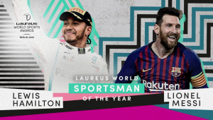 Messi e Hamilton vencem Prêmio Laureus na categoria de melhor atleta masculino