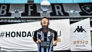 Autuori quer estreia de Honda no Botafogo em clássico contra o Flamengo