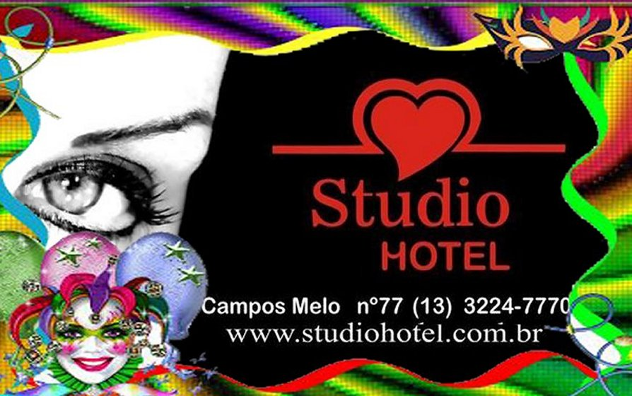 Comece  suas  fantasias no Studio Hotel!