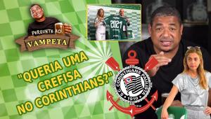 'Queria uma Crefisa no Corinthians?' Vampeta surpreende em resposta