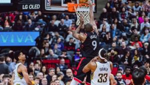 NBA: Toronto Raptors vencem os Lakers com show de Kyle Lowry