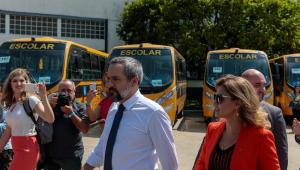Em SP, ministro da Educação diz que 'não falta gente' querendo tirá-lo do cargo