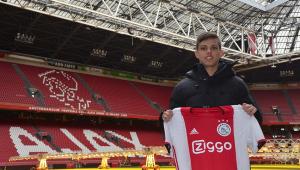 Ajax anuncia contratação de jovem revelado pelo Santos