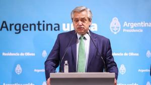Presidente de Argentina deseja rápida recuperação a Bolsonaro por Covid-19