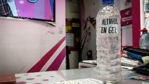 Estações de trem do Rio sofrem 47 furtos de álcool em gel em um mês