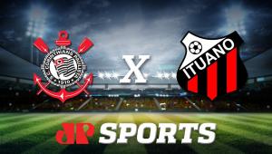 AO VIVO - Corinthians x Ituano - 15/03/20 - Campeonato Paulista - Futebol JP