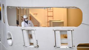 Tripulantes de navio da Marinha estão infectados com coronavírus