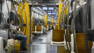 SP: Incêndio em duto de ventilação do metrô mobiliza bombeiros