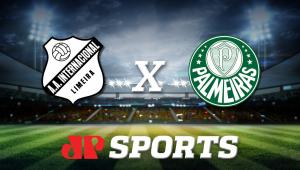 Inter de Limeira x Palmeiras: acompanhe a transmissão da Jovem Pan