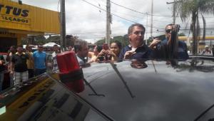 Partidos estudam acionar Bolsonaro na Justiça por saída em Brasília