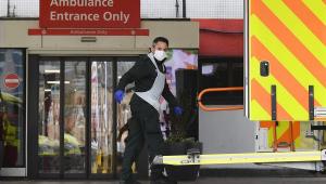 Reino Unido registra 621 novas mortes por Covid-19 em 24 horas