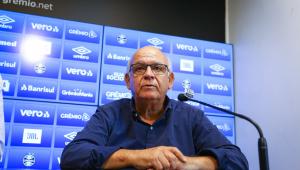 Presidente do Grêmio dá declaração polêmica antes das finais contra o Palmeiras