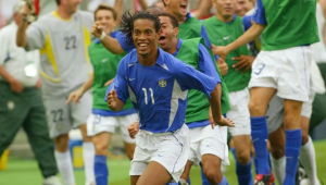 Felipão lembra golaço de Ronaldinho na Copa de 2002: 'Ele estava tentando cruzar'