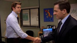 'The Office': John Krasinski e Steve Carell relembram melhores momentos
