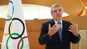 Presidente do COI garante Olimpíada de Tóquio em 2021: 'Não há plano B'