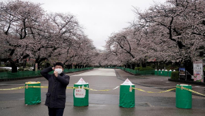 Japão vive alerta da saúde por pandemia do novo coronavírus