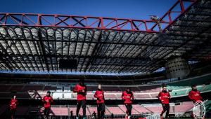 Milan adia volta aos treinos por tempo indeterminado