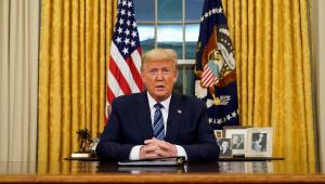 Covid-19: Trump quer distribuir cheques para ajudar americanos