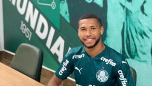 Palmeiras renova contrato de Wesley até 2024