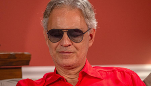 Andrea Bocelli fará concerto pelo YouTube na Páscoa