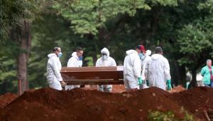 Brasil tem 1.086 novas mortes pela Covid-19 e supera 25 mil óbitos