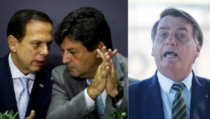 Pesquisa: governadores e Mandetta têm mais aprovação que Bolsonaro