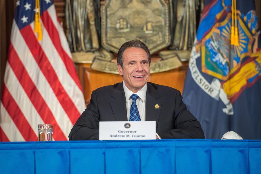 Andrew Cuomo é o atual governador do estado de Nova York